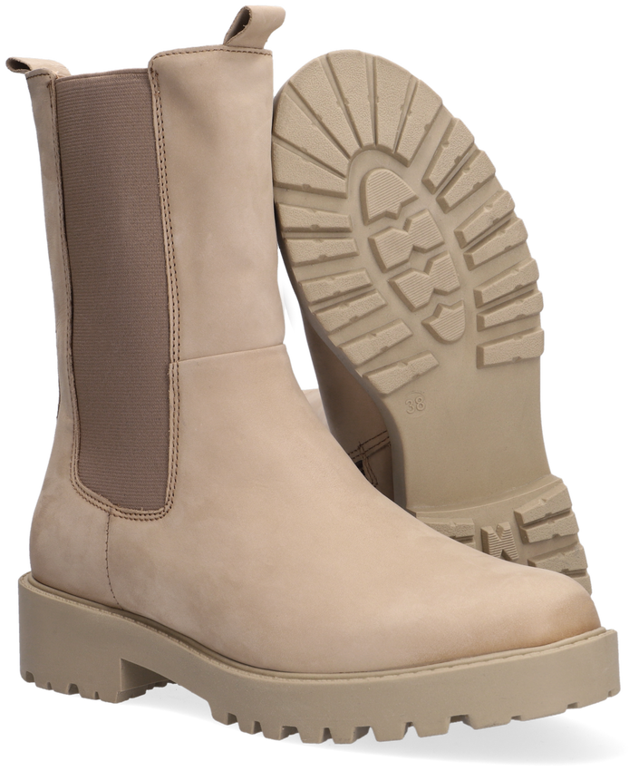 Taupe OMODA Chelsea boots LPBOND-07A  - larger