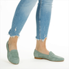 Groene NOTRE-V Loafers 27980LX  - small