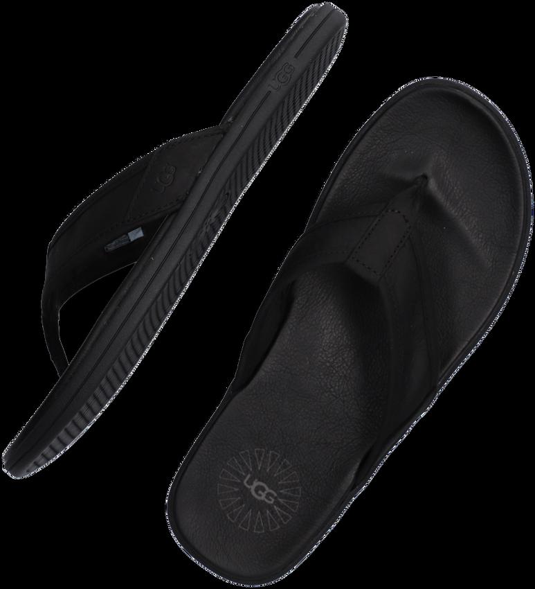 Zwarte UGG Slippers M SEASIDE  FLIP  - larger