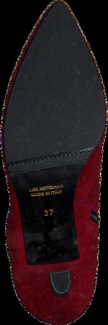Rode MARIPE Enkellaarsjes 27372 - large