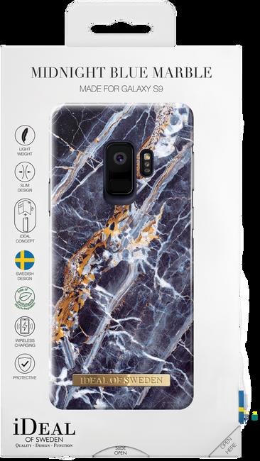 Blauwe IDEAL OF SWEDEN Telefoonhoesje FASHION CASE GALAXY S9 - large