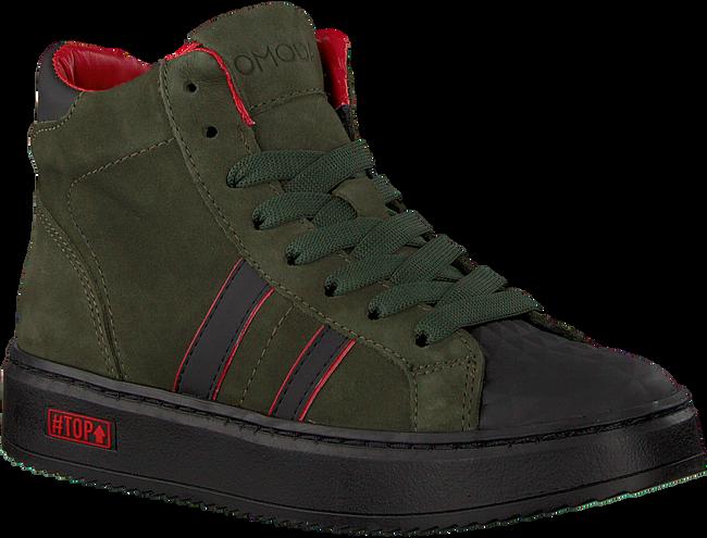 Groene OMODA Hoge sneaker O1543  - large