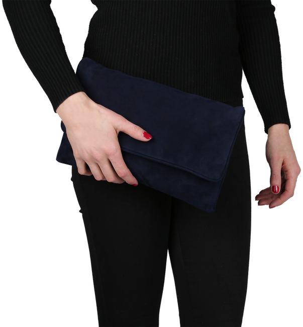 Blauwe PETER KAISER Clutch LIEKE - large