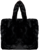 Zwarte STAND Schoudertas LOLA BAG  - small