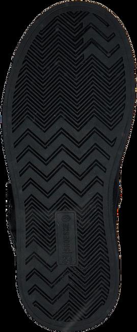 Zwarte SHOESME Veterboots SH9W018  - large