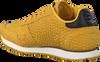 Gele WODEN Sneakers YDUN CROCO  - small