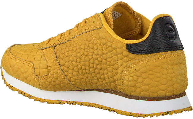 Gele WODEN Sneakers YDUN CROCO  - large