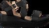 Zwarte UNISA Espadrilles KACHEO - small