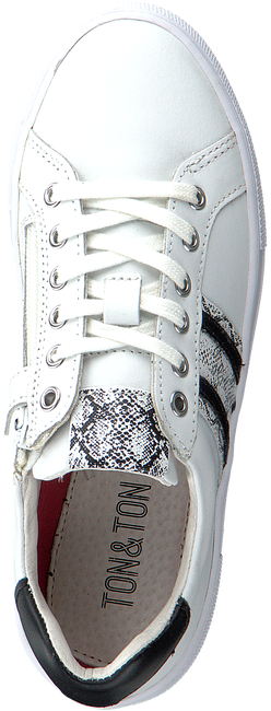Witte TON & TON Lage sneakers OM120260  - large