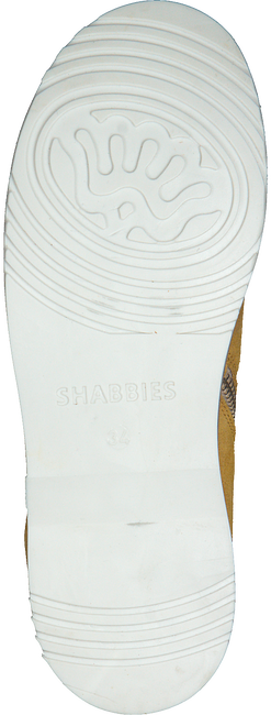 Gele SHABBIES Enkellaarsjes SHK0029  - large