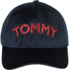 Blauwe TOMMY HILFIGER Pet PATCH CAP VELVET  - small