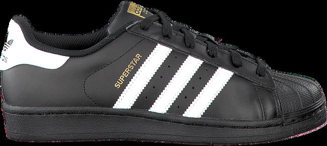 Zwarte ADIDAS Sneakers SUPERSTAR KIDS  - large