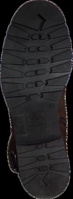Bruine VIA VAI Lange laarzen 4705009  - large