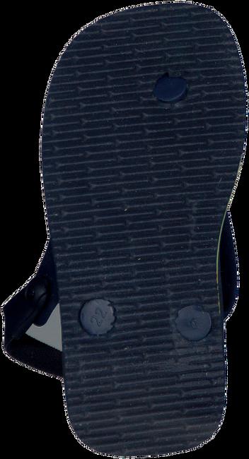 Blauwe HAVAIANAS Slippers BABY BRASIL LOGO  - large