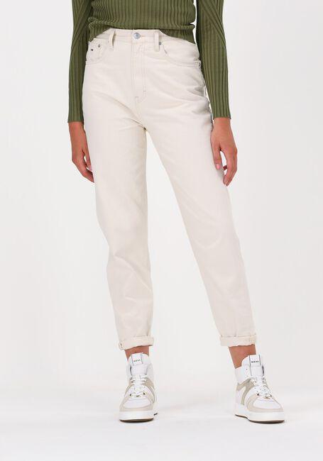 Gebroken wit TOMMY JEANS Mom jeans MOM JEAN SDTB UHR TPRD BE804 E - large