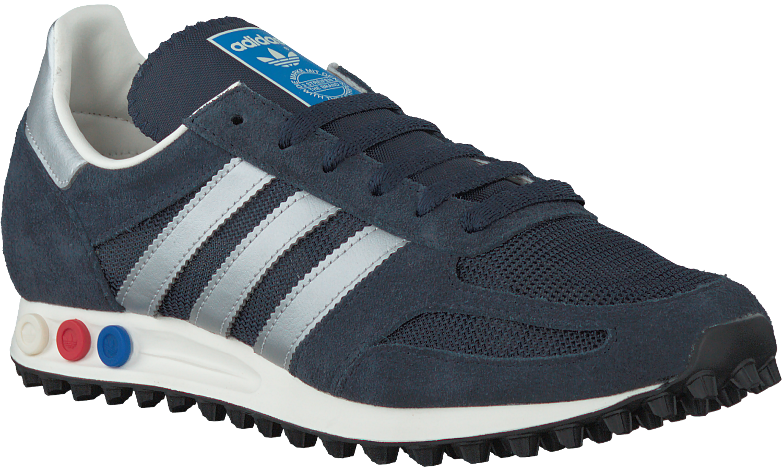 586f6c49222 Blauwe ADIDAS Sneakers LA TRAINER OG HEREN - Omoda.nl