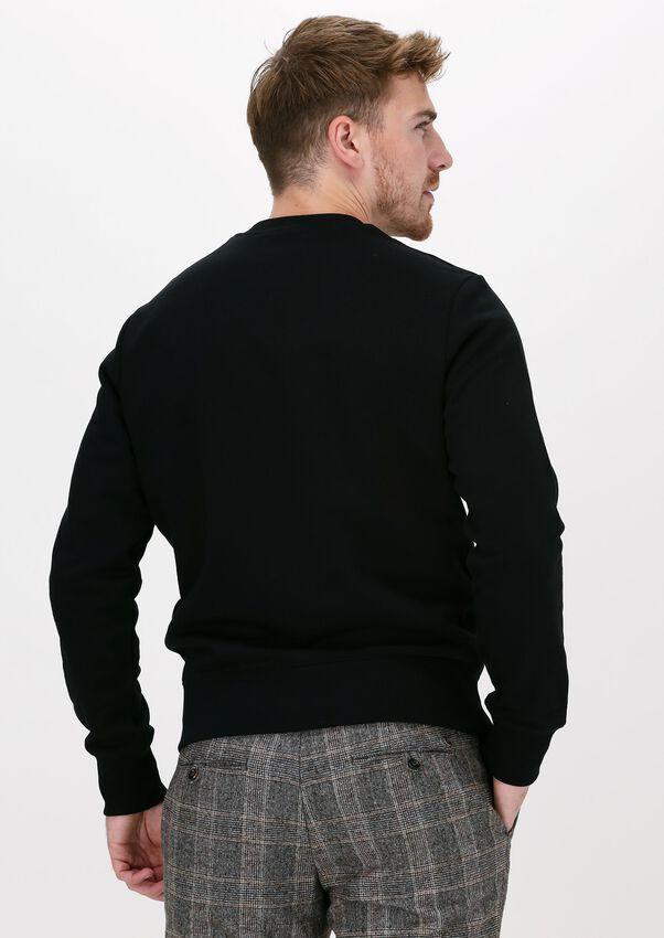 Zwarte FRED PERRY Sweater LAUREL WREATH SWEATSHIRT  - larger