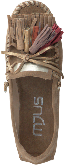 Beige MJUS Mocassins 987103  - large
