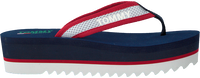 Blauwe TOMMY HILFIGER Slippers RECYCLED MESH MID BEACH  - medium