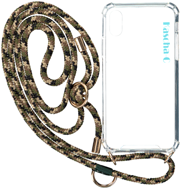 Groene KASCHA-C Telefoonkoord PHONECORD IPHONE XR  - large