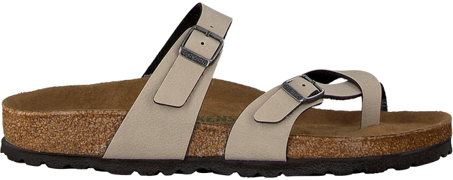 taupe BIRKENSTOCK PAPILLIO Slippers MAYARI PULL UP  - large