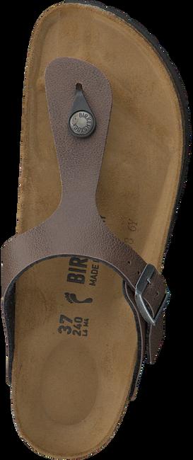 Bruine BIRKENSTOCK PAPILLIO Slippers GIZEH KIDS  - large