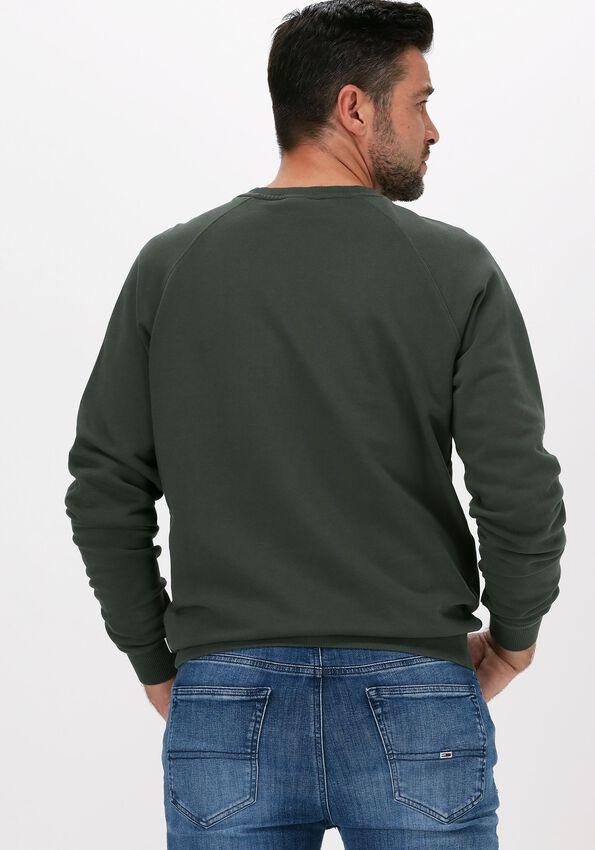 Donkergroene FORÉT Sweater SPRUCE SWEATSHIRT - larger