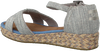 grijze TOMS Sandalen HARPER  - small