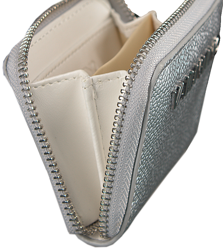 Zilveren VALENTINO BAGS Portemonnee DIVINA COIN PURSE - larger