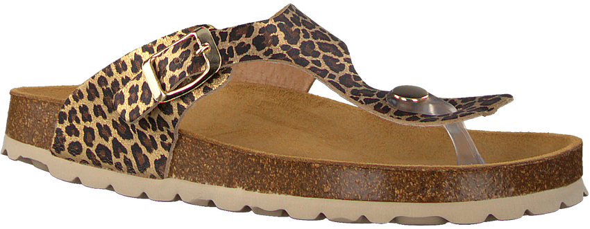 Gouden DEVELAB Slippers 48202 - larger