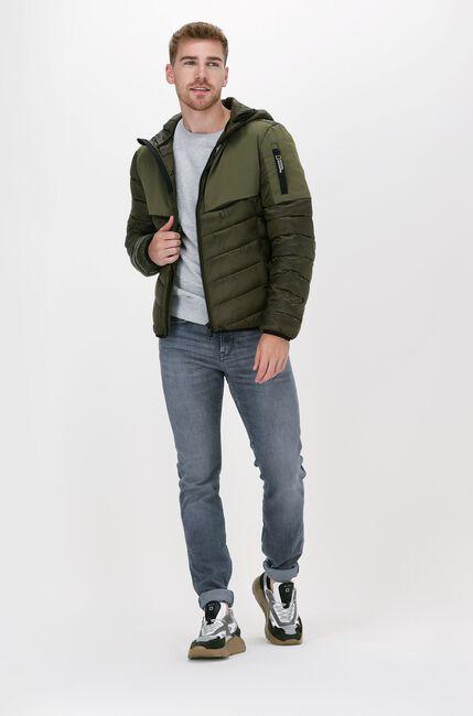 Grijze LYLE & SCOTT Sweater CREW NECK SWEATSHIRT - large