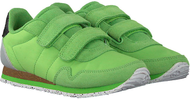 Groene WODEN Lage sneakers NOR SUEDE  - large