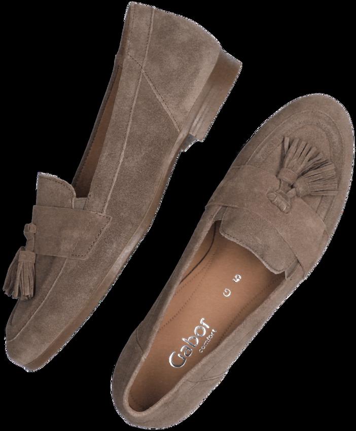 Beige GABOR Loafers 433  - larger