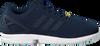 Blauwe ADIDAS Sneakers ZX FLUX HEREN  - small