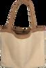 Beige STUDIO NOOS Shopper TEDDY LAMMY MOM-BAG  - small