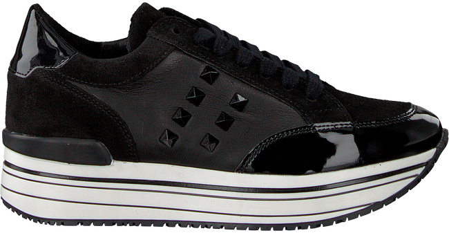 Zwarte OMODA Sneakers LEANSTUD SNEAKER - large