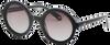 Zwarte IKKI Zonnebril TATE  - small