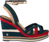 TOMMY HILFIGER ESPADRILLES CORPORATE WEDGE SANDAL SPORTY - small