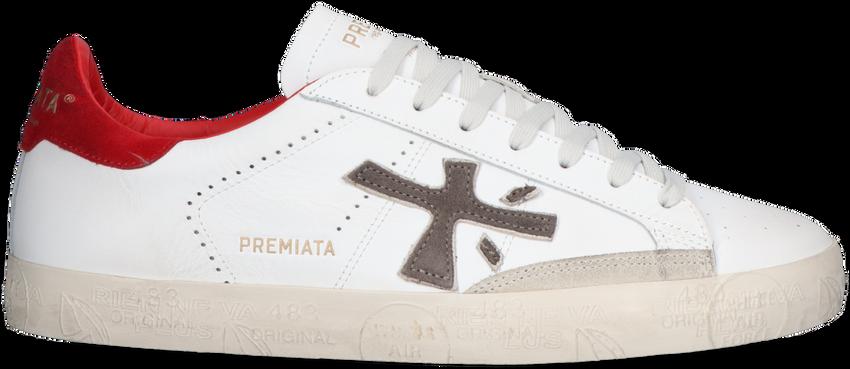Witte PREMIATA Lage sneakers STEVEN  - larger