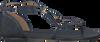 Blauwe MICHAEL KORS Sandalen TERRI FLAT  - small