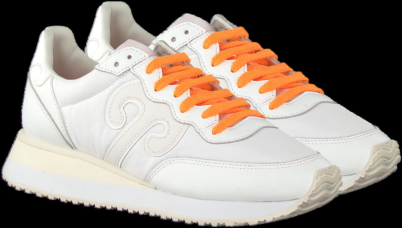 Witte WUSHU Lage sneakers MASTER | Omoda