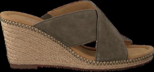 Groene GABOR Slippers 829 - large