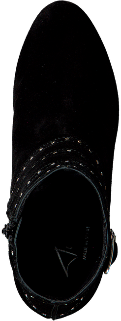 Zwarte TORAL Enkellaarsjes 10731  - large