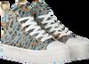 Blauwe GUESS Hoge sneaker BOKAN  - small