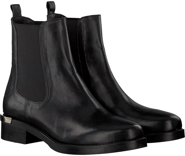 Zwarte VIA VAI Chelsea boots 4902054-01 - large