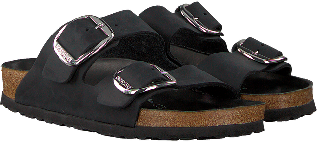 Zwarte BIRKENSTOCK Slippers ARIZONA BIG BUCKLE  - large