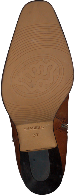Cognac SHABBIES Enkellaarsjes 183020164 - large