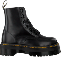 Zwarte DR MARTENS Veterboots MOLLY  - medium