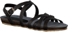 Zwarte RED RAG Sandalen 79096  - small