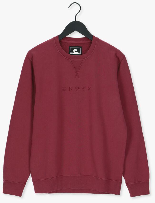 Rode EDWIN Sweater KATAKANA CREWNECK  - larger